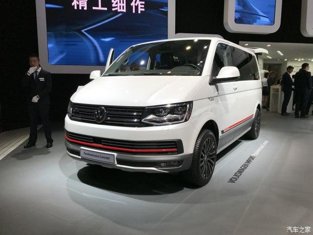 2017上海车展:大众PanAmerican概念车