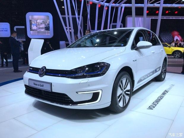2017上海车展:新款高尔夫电动版亮相