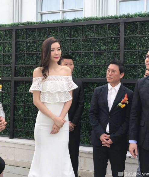 郭富城大婚 熊黛林也做与婚礼有关的事