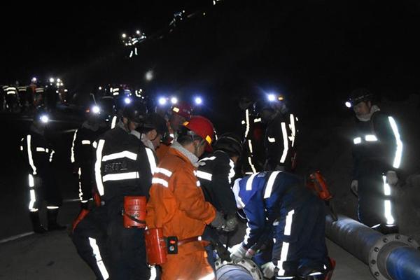 陕西神木一煤矿发生透水事故6人被困