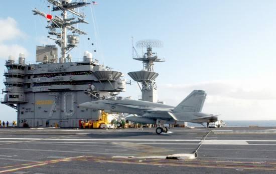 美军航母真的来了 但闹出的乌龙令美政府难堪