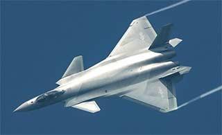 歼20战机再爆新图满满科幻感