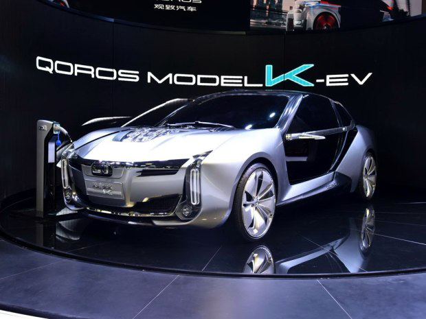 "Model K-EV惊艳亮相观致""两栖战略""加速推进"