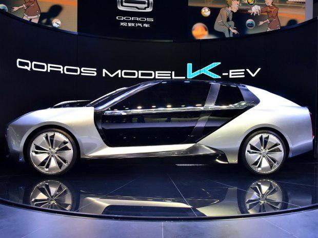 观致超级电动车Model K-EV上海车展全球首秀