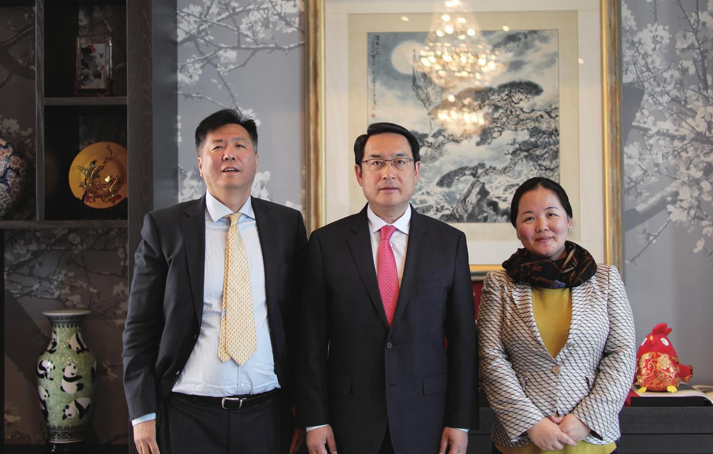中国驻西班牙大使吕凡接受《环球时报欧洲版》专访—— 中国与西班牙合作不断深化