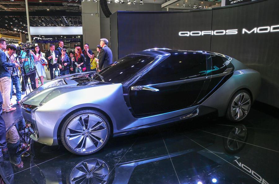 观致Model K-EV全球首发 有望2019年限量上市