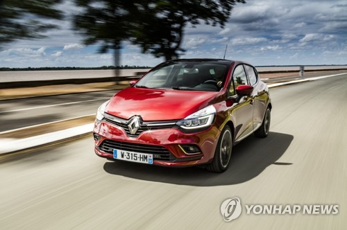 雷诺拟8月在韩推出Clio 满足小型节能车需求