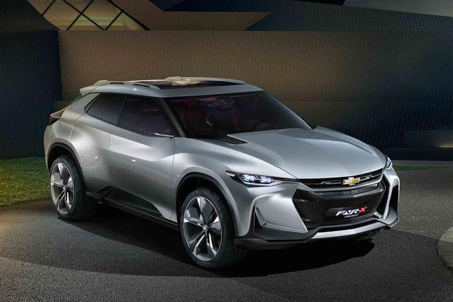 雪佛兰FNR-X概念车上海车展首秀 前卫造型设计