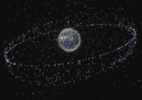 欧洲航天局警告太空垃圾或引发灾难性碰撞事件
