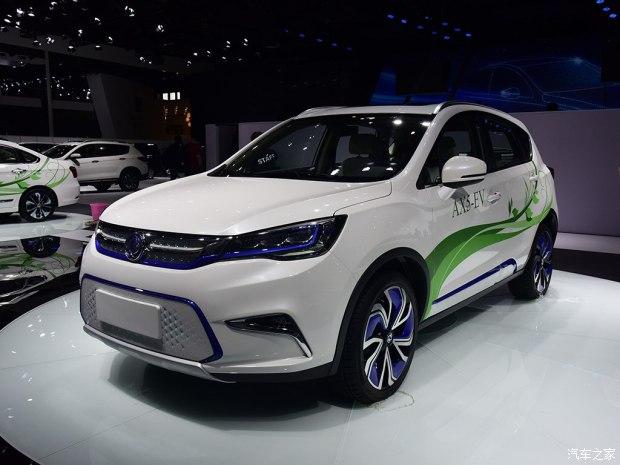 2017上海车展:东风风神AX5-EV正式发布