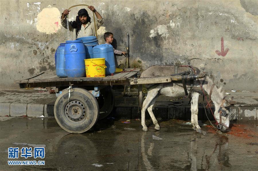 热浪袭击巴基斯坦 多地气温超45摄氏度