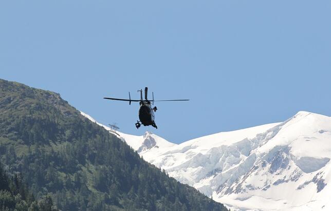 一美国人阿尔卑斯山滑雪身亡 系8日内第三次事故