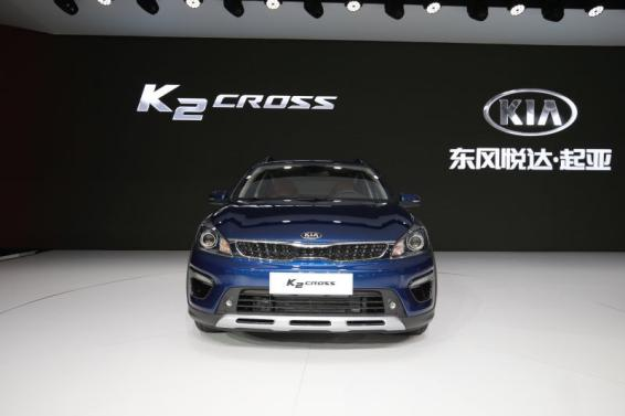 东风悦达起亚登陆上海车展 K2 CROSS携手焕驰引领小型车新风尚