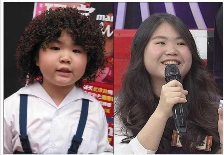 台媒:张君雅小妹妹长大了  今昔照大对比