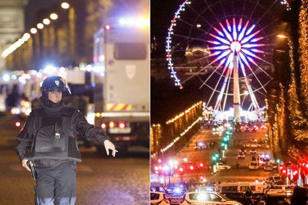 巴黎香榭丽舍大街枪击致1名警察死亡 IS宣称负责
