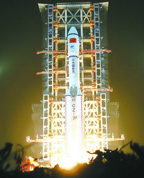 中国这次把快递做到了太空 世界感受中国雄心