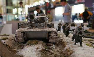 18届模型展 无人机坦克齐上阵