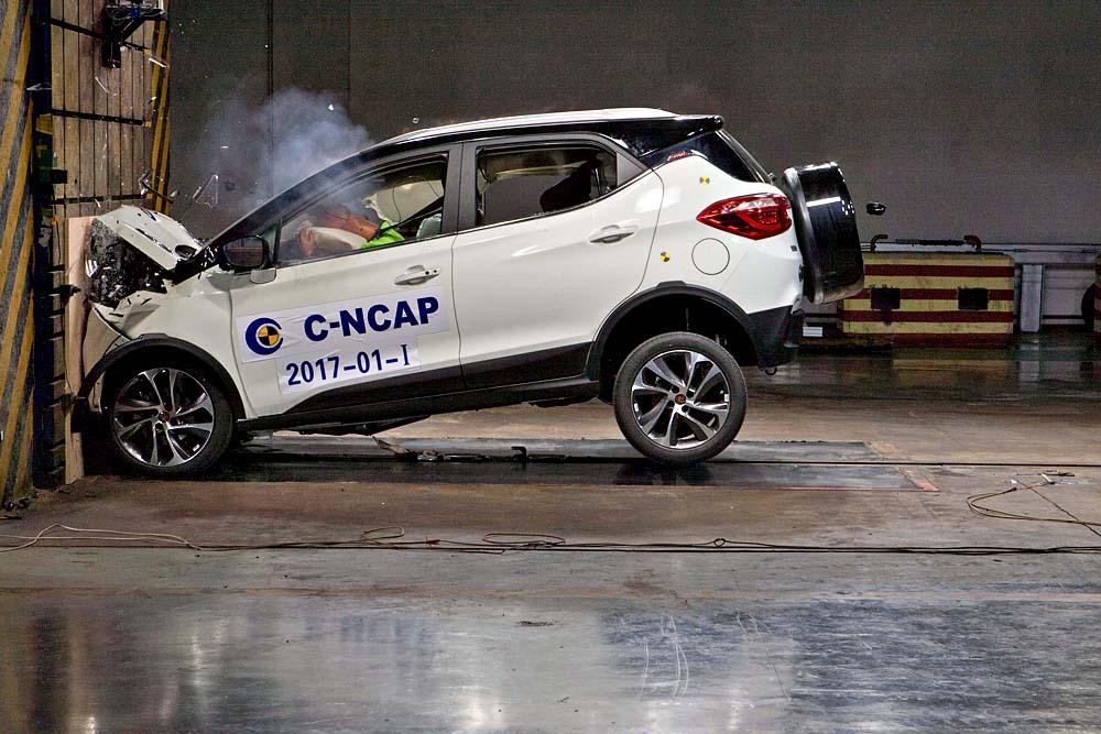 2017年度C-NCAP第一批车型评价结果暨新规发布