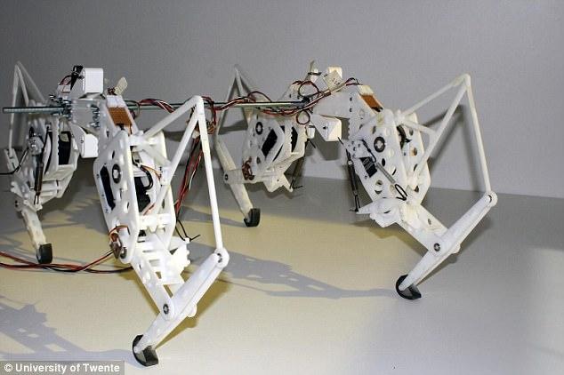 荷兰研究人员研发出四腿机器人 灵感来自印度豹