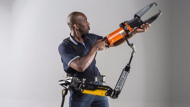 洛克希德马丁单独发售Fortis外骨骼配套工具臂