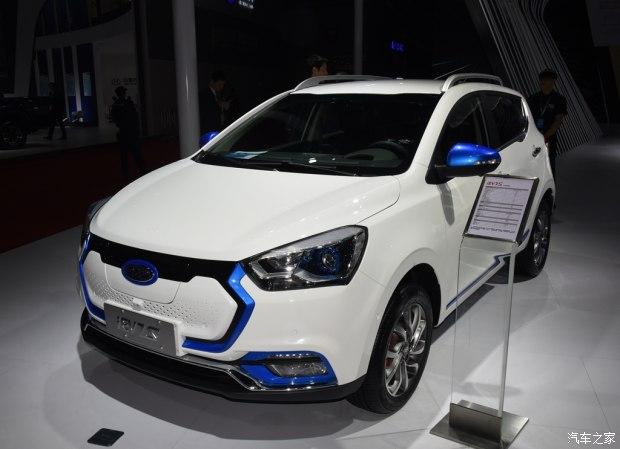 2017上海车展:江淮iEV7S车型正式发布