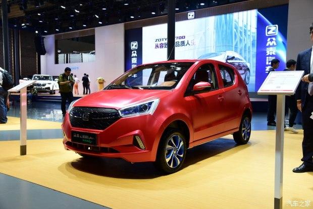 2017上海车展:众泰云100 Plus正式发布