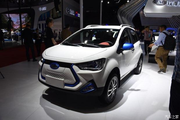 2017上海车展:江淮iEV7E车型正式亮相