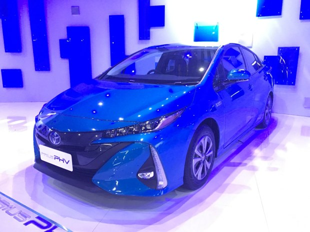2017上海车展:丰田普锐斯Prime亮相
