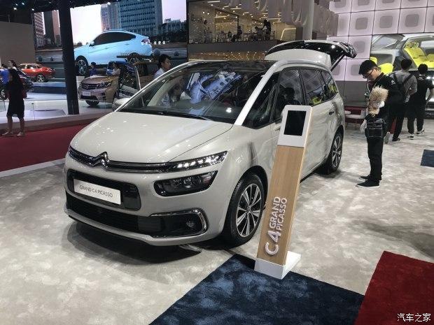 上海车展:新款Grand C4 PICASSO亮相