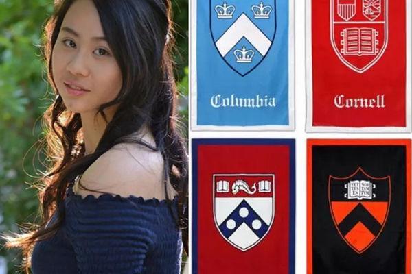 17岁华裔女孩凭一篇作文被美国十四所名校录取