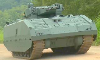 新加坡新一代装甲车曝光 外形科幻时尚