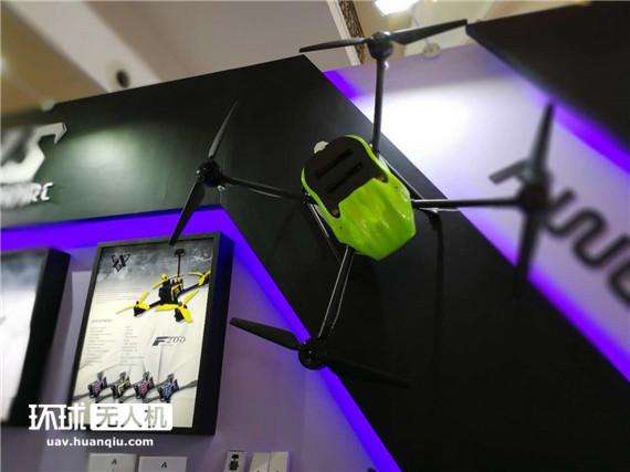 模型展上的大家伙:各行业运用的工业级无人机也来了
