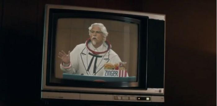 """肯德基新广告:""""桑德斯上校""""希望将三明治送上太空"""