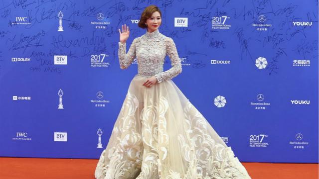 北京电影节闭幕林志玲似仙女