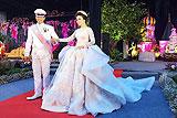 印尼新娘童话婚纱被赞最美