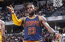 NBA-詹皇砍33+10 骑士横扫步行者晋级次轮