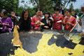 巨型煎蛋亮相广州