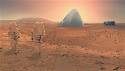 火星盖房有望? 专家:就地取材并引用3D打印技术