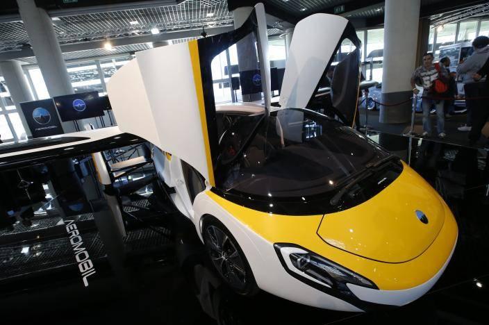 全球首款商业化飞行汽车亮相摩纳哥 2020年交付