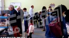 直击法国里昂投票站现场 :选票这么出炉!