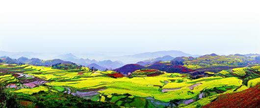 已经成为我省山地旅游业态阵营里独具特色的旅游景观,演绎着农旅一体