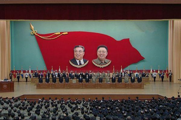 朝鲜举行中央报告大会 纪念人民军建军85周年