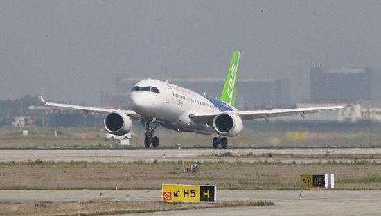 美媒:中国C919大飞机正在扫清起飞前最后的障碍