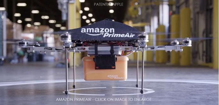 亚马逊无人机专利曝光 或预示未来UAV设计方向