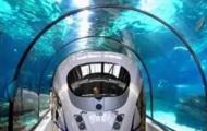构思海底真空隧道列车:时速2000公里