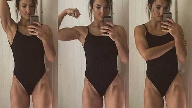 为变胖她每天吃5顿饭 增重后变性感女神
