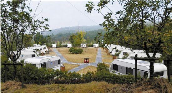 浙江现有房车营地12个 带家旅行的生活越来越近