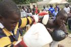 津巴布韦办少年拳击赛