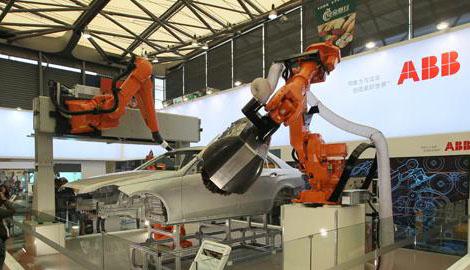 产业机器人企业ABB年内将在中国内陆开设基地