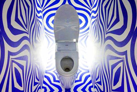 迷之设计的卫生间